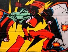 Graffiti manga – Kanti de FLCL