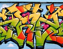 The hariblob graffiti