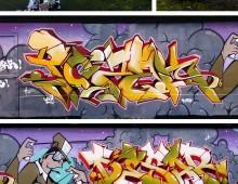 Graffiti avec Reso, et le WXP