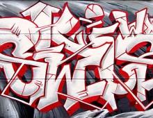 Graffiti avec Serain et Puntos