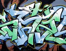 Graffiti avec Rekor, Ensu et Pozek