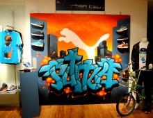 Puma graffiti by Swip