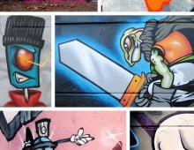 Personnages graffiti 2012