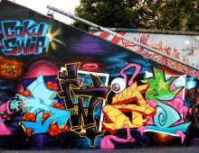 Magic graffiti freestyle