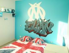 Déco graffiti : chambre
