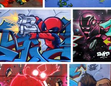 Personnages graffiti 2013-2014
