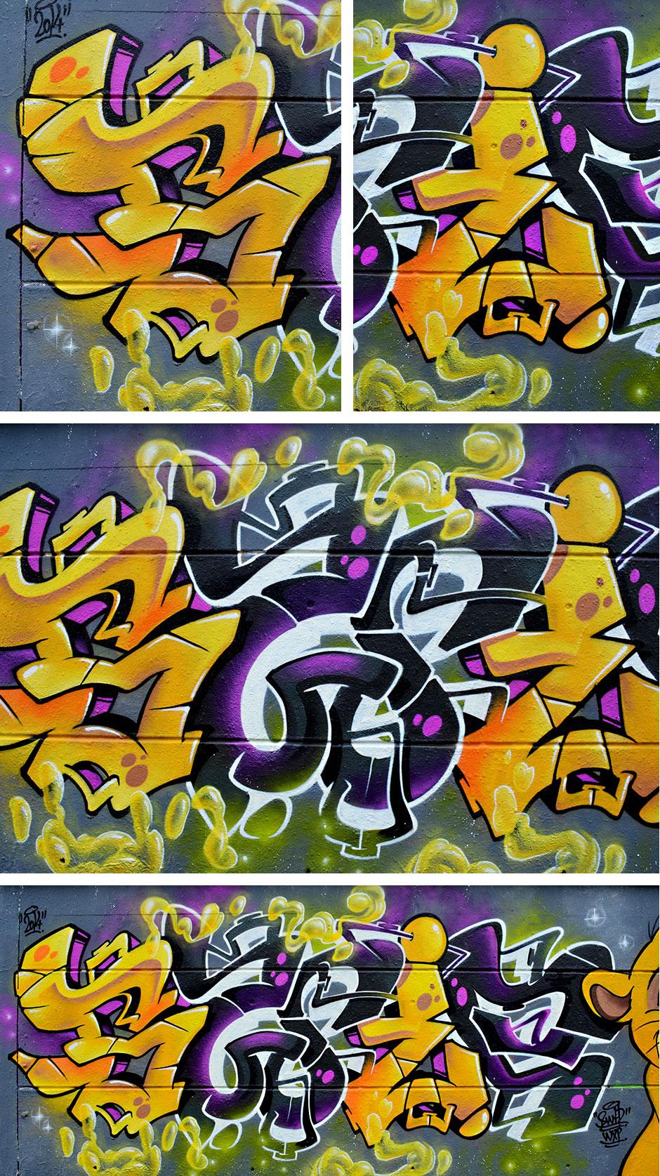 montage graffiti swip