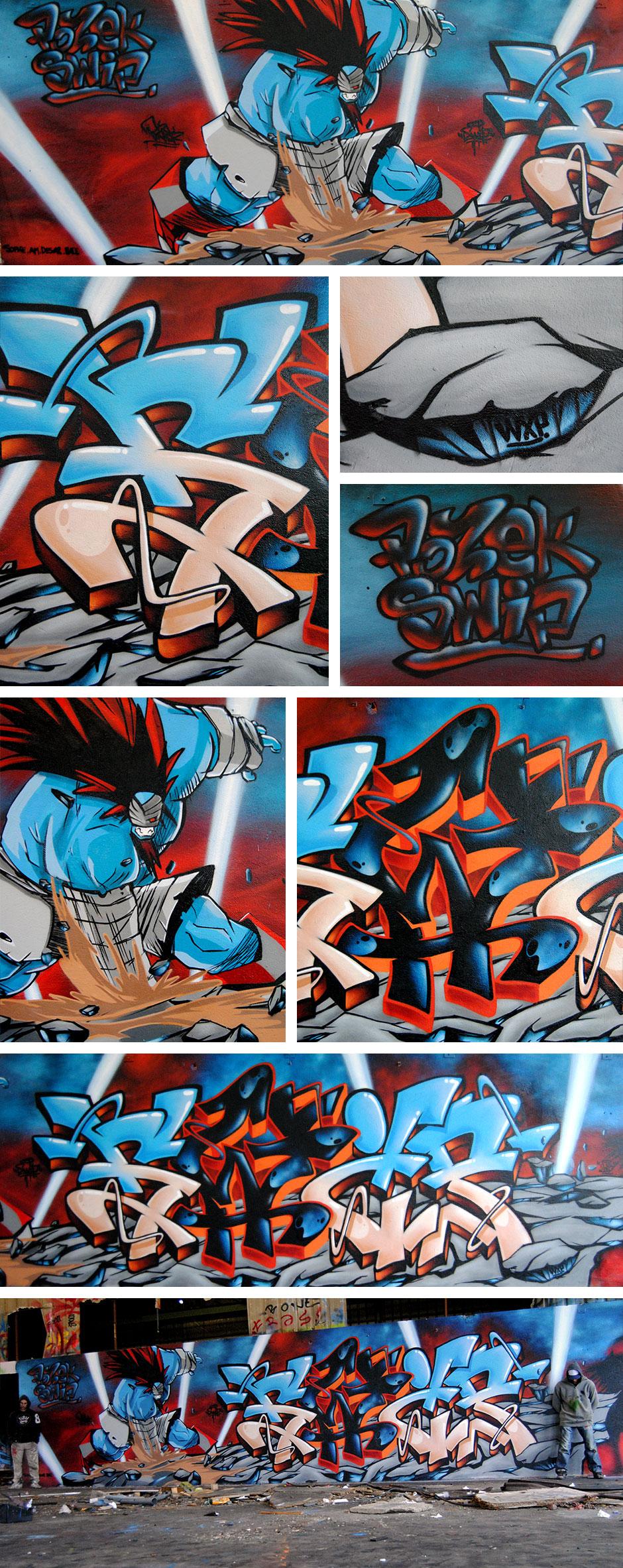 Ankama-graffiti-montage-1-deco-graffiti-toulouse-swip-swiponer-wxp