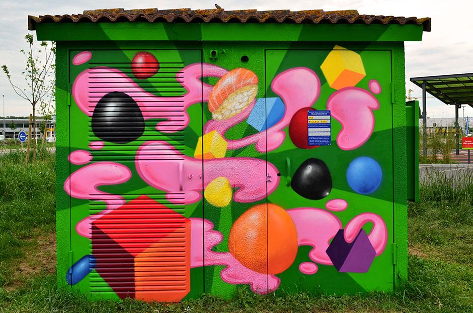 graffiti-donut-labège-bonbon-cube-dragibusswip-swiponer-deco-graff-toulouse-wxp-animation