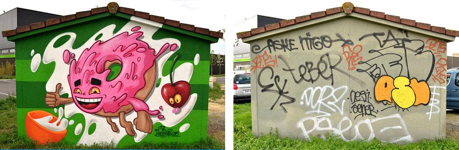 graffiti-donut-labège-swip-swiponer-deco-graff-toulouse-wxp-animation-avant-apres