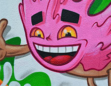 Graffiti Donut Labège