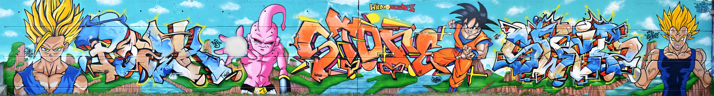 Graffiti dragon ball z