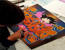 Cours de graffiti rejoignez nous