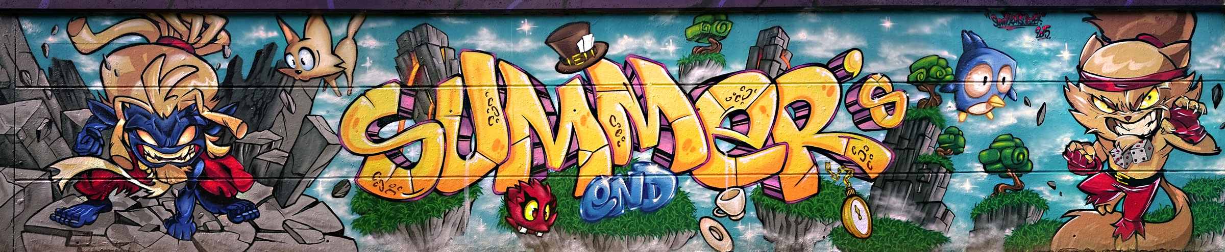 graffiti crossmaster