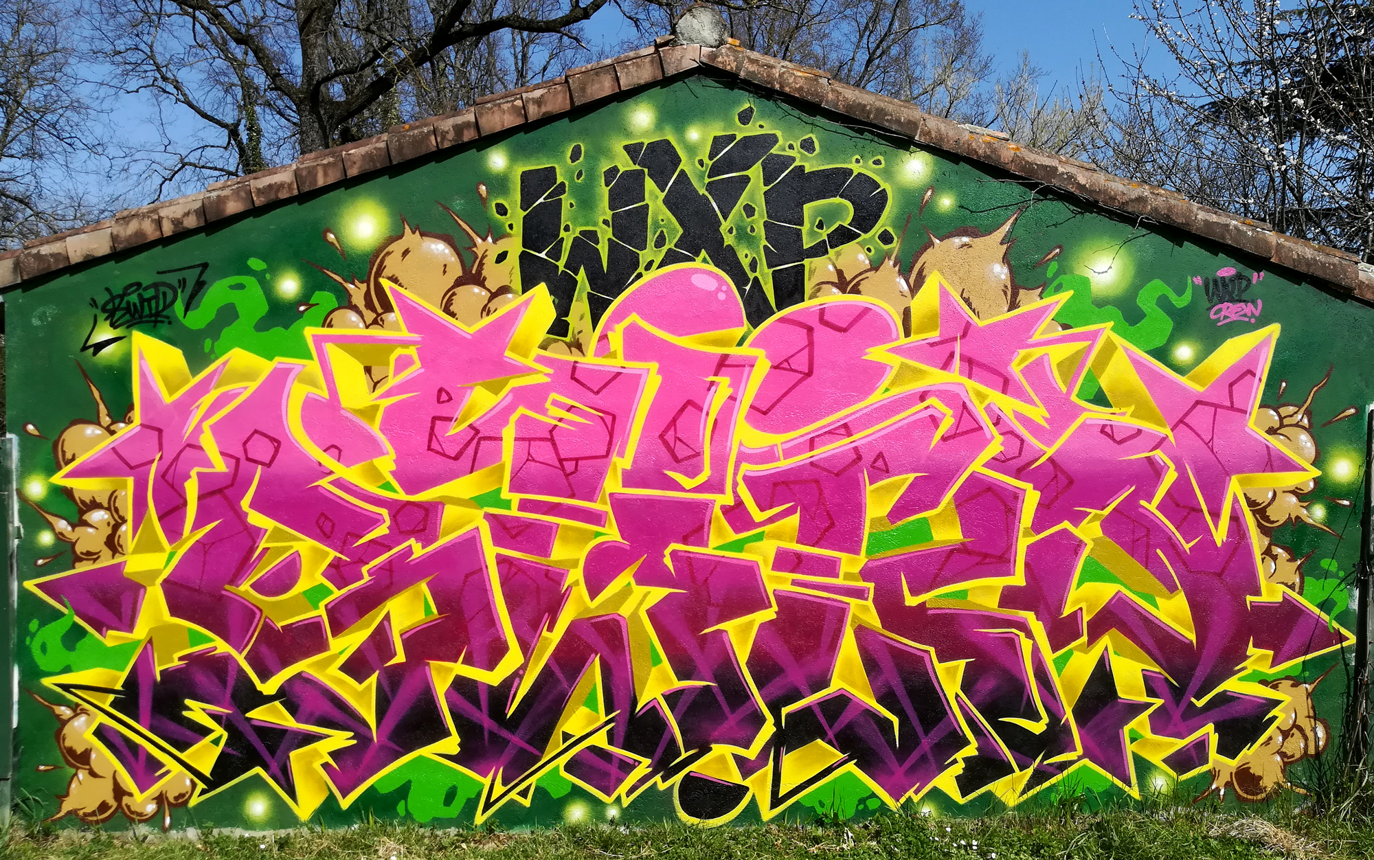 Graffiti Wild Style