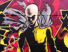 Graffiti One Punch Man