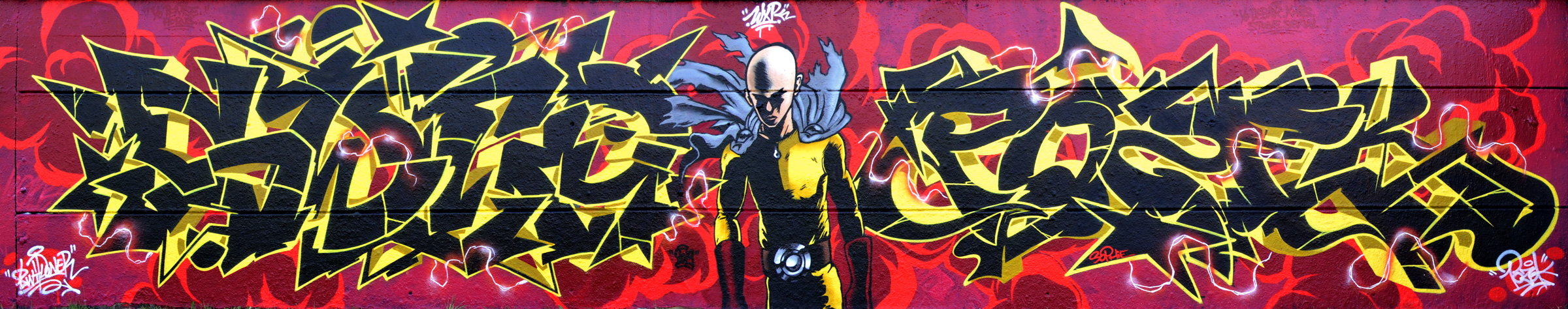Graffiti One Punch Man
